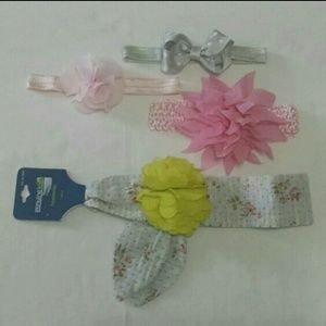 Other - Baby girl headbands bows lot